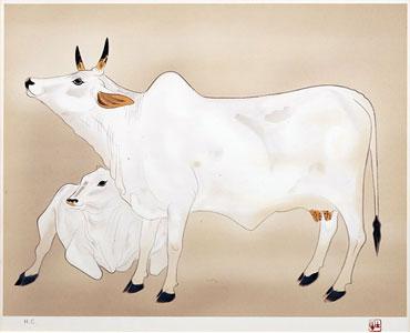 奥村土牛「聖牛」