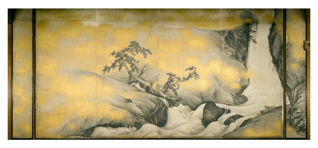 金刀比羅宮表書院障壁画のうち瀑布図